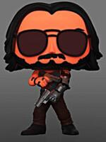 Figurka Cyberpunk 2077 - Johnny Silverhand with Gun Glow in the Dark (Funko POP! Games 592)