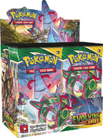 Karetní hra Pokémon TCG: Sword & Shield Evolving Skies - booster box (36 boosterů)