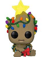Figurka Guardians of the Galaxy - Holiday Groot Glow in the Dark (Funko POP! Marvel 530)