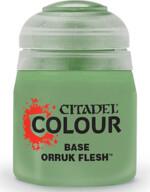 Citadel Base Paint (Orruk Flesh) - základní barva, zelená