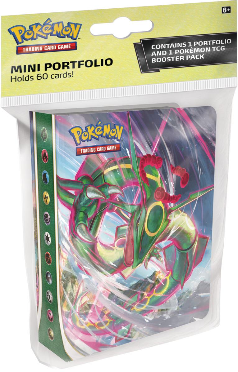Album na karty Pokémon - Sword and Shield: Evolving Skies Mini + booster (10 karet)