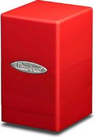 Krabička na karty Ultra Pro - Satin Tower (Apple Red)
