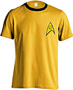 Tričko Star Trek - Command Uniform (velikost S)