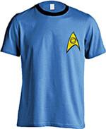 Tričko Star Trek - Science Uniform (velikost S)