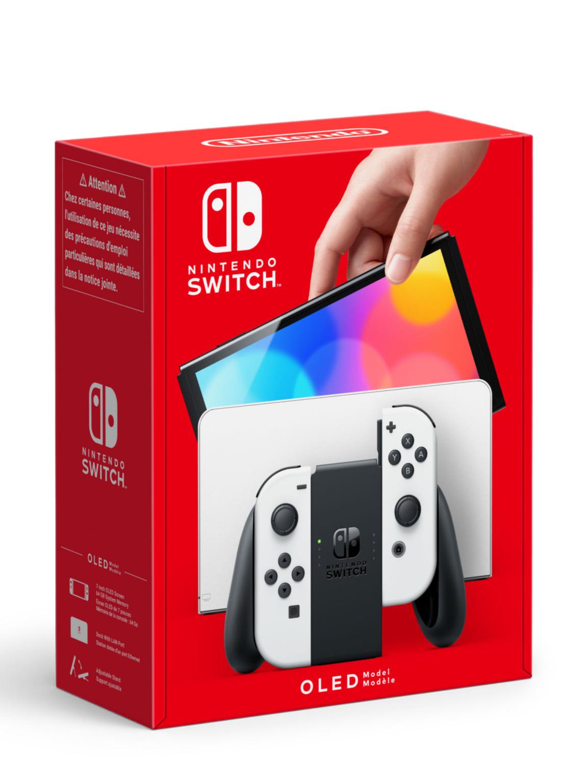 Konzole Nintendo Switch OLED model - White (SWITCH)
