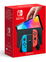 Konzole Nintendo Switch OLED model - Neon blue/Neon red (SWITCH)