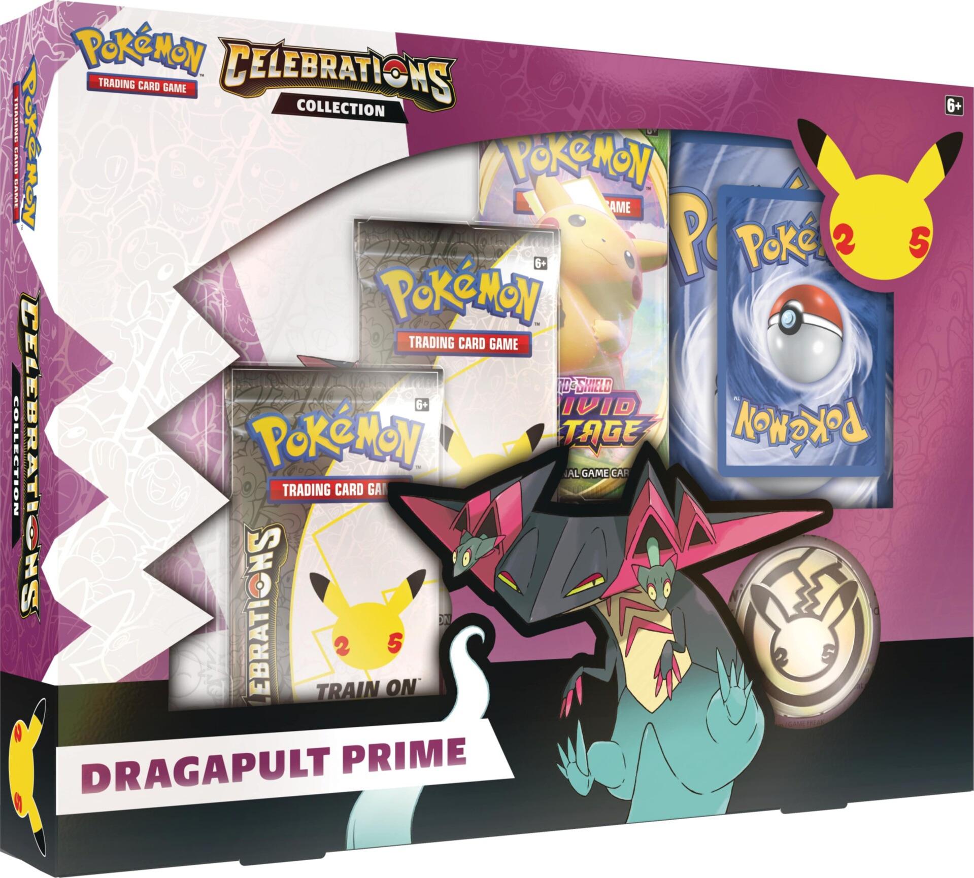 Karetní hra Pokémon TCG: Celebrations - Dragapult Prime Collection