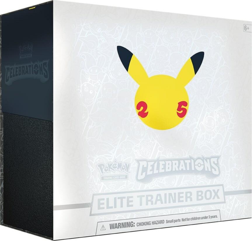 Karetní hra Pokémon TCG: Celebrations - Elite Trainer Box