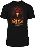 Tričko Diablo II: Resurrected - Key to Darkness (velikost XL)