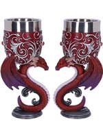 Poháry Dragons Devotion (set 2 pohárů)