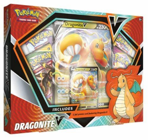 Karetní hra Pokémon TCG - Dragonite V Box