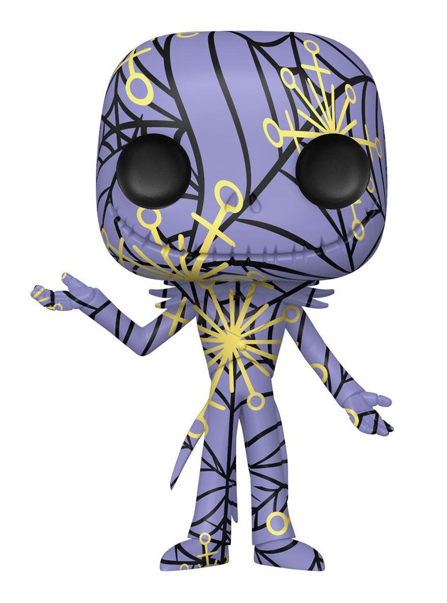 Figurka The Nightmare Before Christmas - Jack Skellington (Funko POP! Art Series 05) + ochranný obal