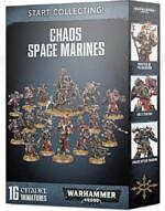 W40k: Start Collecting Chaos Space Marines (16 figurek)