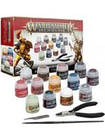 Barvící sada Citadel Age of Sigmar Paints + Tools (13 barev, štětec, pilník, kleště) 2021