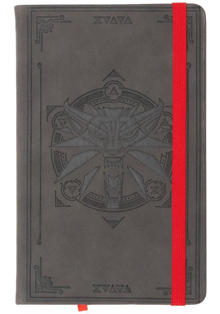 Zápisník Zaklínač - Hunter Notes Journal