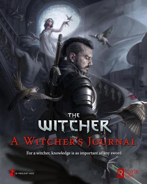 Kniha Zaklínač: A Witcher's Journal (Stolní RPG - rozšíření)