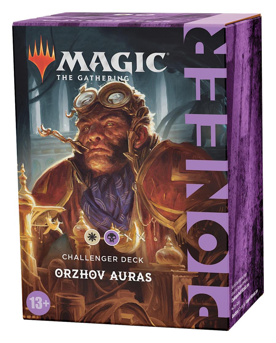 Karetní hra Magic: The Gathering - Orzhov Auras (Pioneer Challenger Deck)