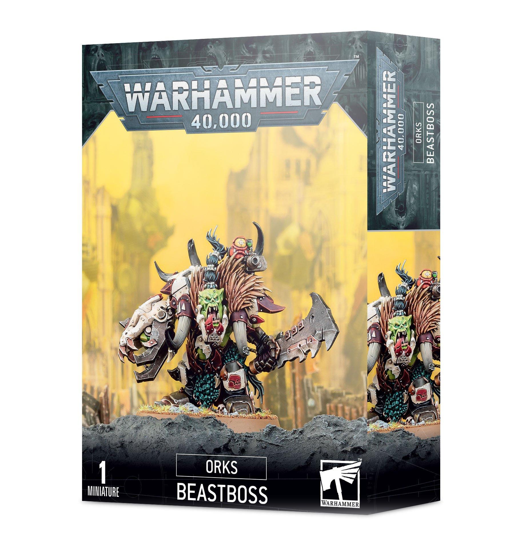 W40k: Orks - Beast Boss (1 figurka)