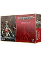 W-AOS: Orruk Warclans - Breaka-boss on Mirebrute Troggoth (1 figurka)