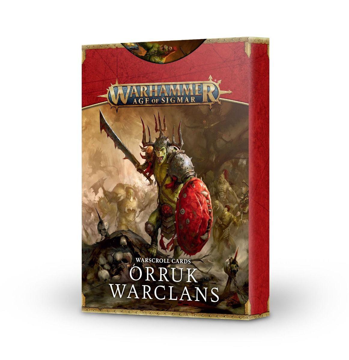 W-AOS: Warscroll Cards: Orruk Warclans