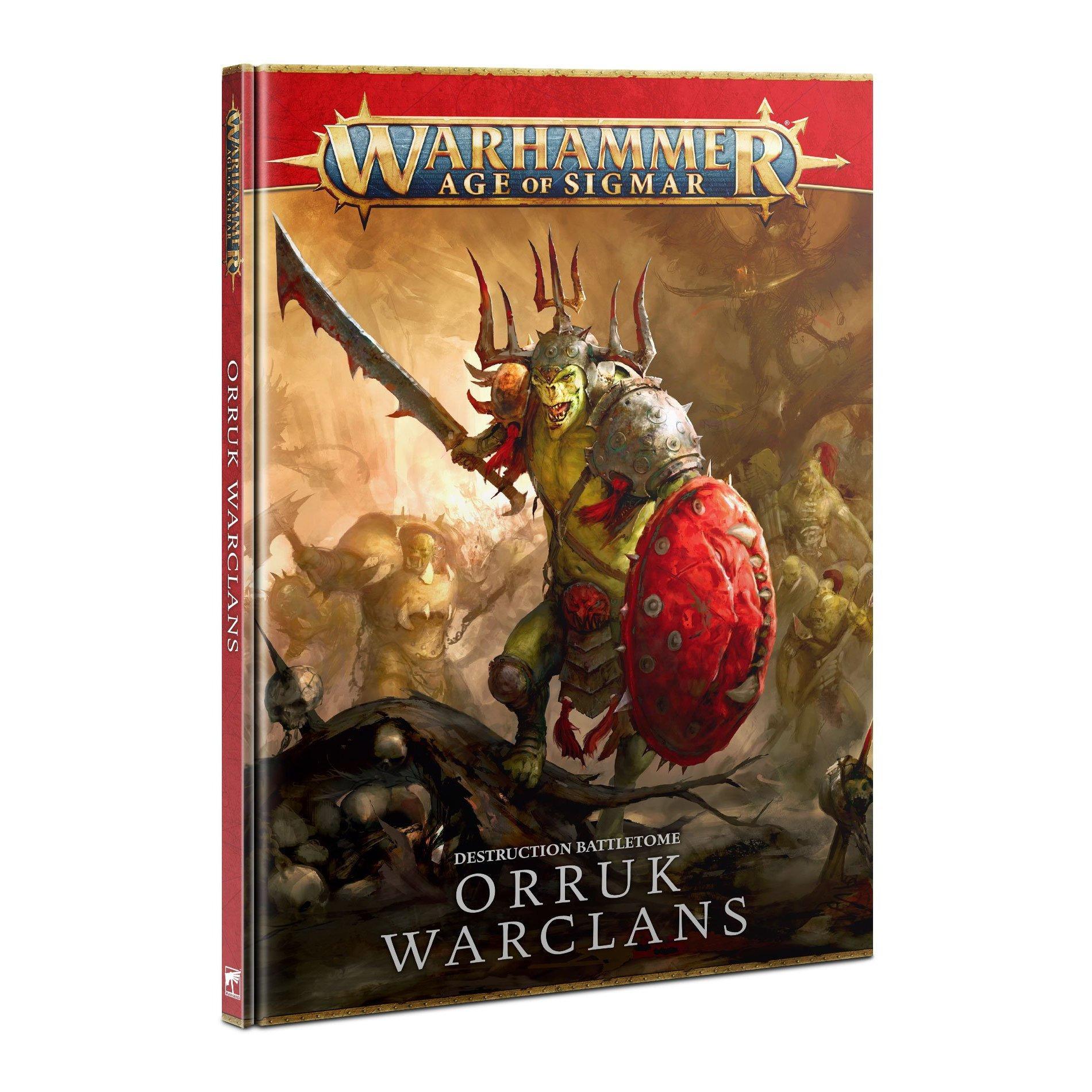 Kniha Warhammer Age of Sigmar: Battletome Orruk Warclans (2021)