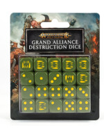 Kostky Warhammer Age of Sigmar - Grand Alliance Destruction (20 ks)