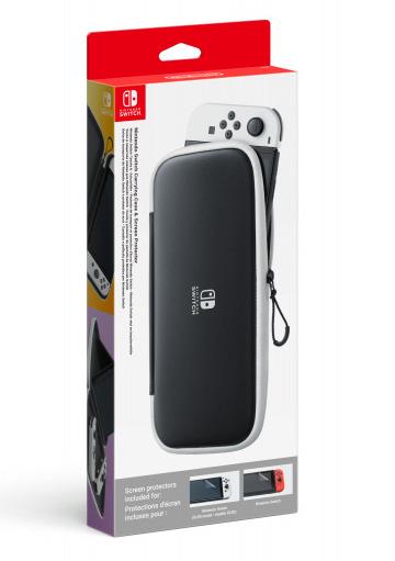 Ochranné pouzdro pevné a fólie na displej Nintendo Switch OLED model (SWITCH)