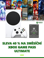 Konzole Xbox Series S 512GB + Game Pass Ulimate na 3 měsíce (XSX)