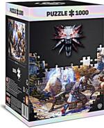 Puzzle Zaklínač - Geralt & Triss in Battle (Good Loot)
