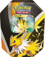 Karetní hra Pokémon TCG - Eevee Evolution Tin Jolteon V