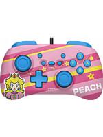 Ovladač Horipad Mini - Peach (Super Mario Series) (SWITCH)