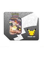 Karetní hra Pokémon TCG: Celebrations - Lances Charizard V Big Tin