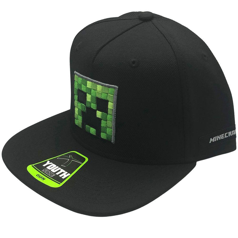 Kšiltovka dětská Minecraft - Creeper Face