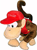Plyšák Mario - Diddy Kong