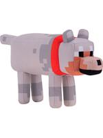 Plyšák Minecraft - Wolf (30 cm)