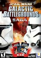 Star Wars Galactic Battlegrounds Saga (PC)