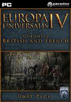 Europa Universalis IV: Colonial British and French Unit Pack  DIGITAL