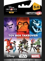 Disney Infinity 3.0: Minihra pro Toy Box - Villains Takeover
