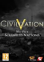 Sid Meiers Civilization V: Scrambled Nations Map Pack (PC) DIGITAL