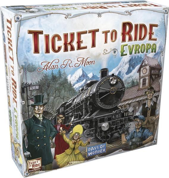 Desková hra Ticket To Ride: Evropa (PC)