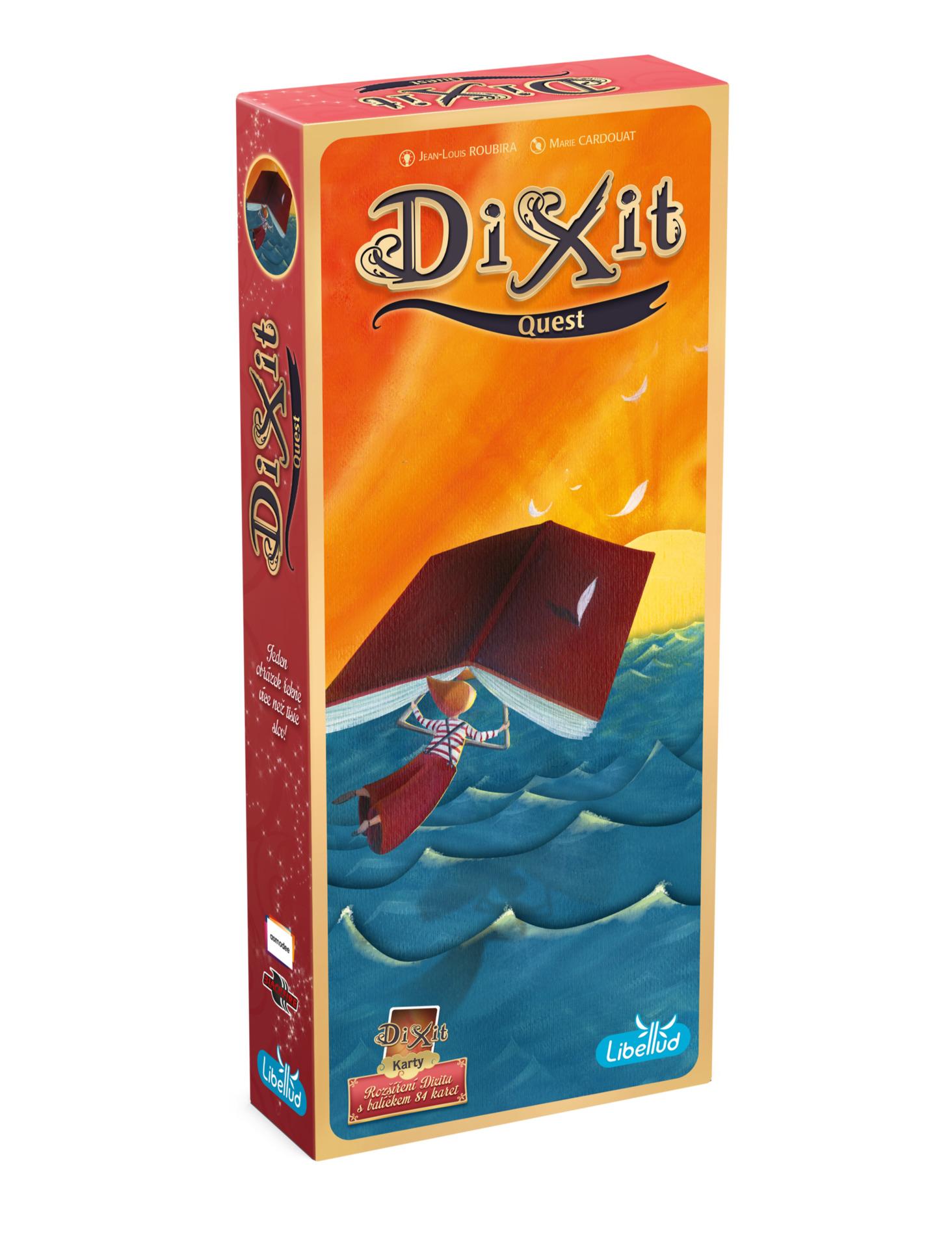 Karetní hra Dixit 2. rozšíření - Quest (PC)