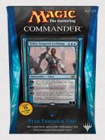 Magic the Gathering Commander 2014 - Peer through Time (modrá)