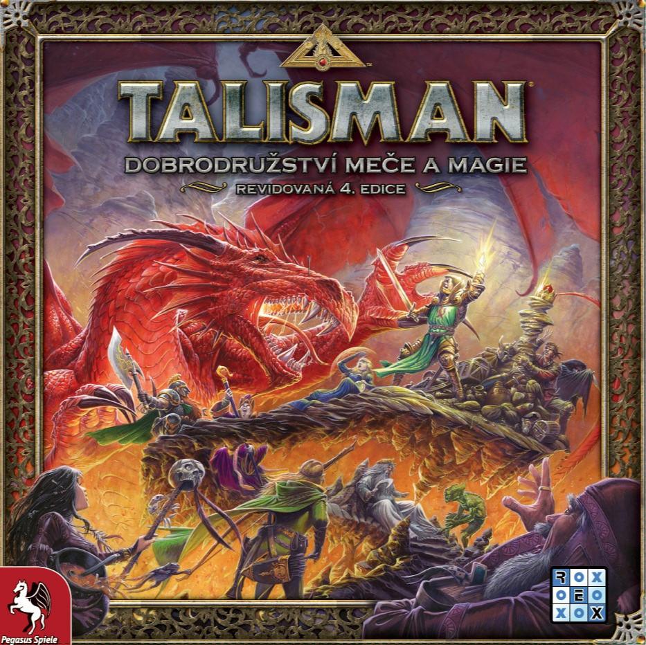 Desková hra Talisman: Dobrodružství meče a magie (PC)
