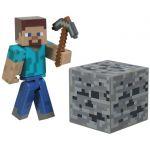 Figurka Minecraft Overworld - Steve s krumpáčem