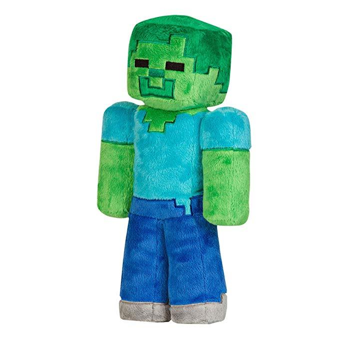 Plyšák Minecraft - Zombie (32 cm) (PC)