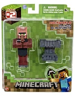 Figurka Minecraft Overworld - Villager tmavý
