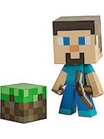 Figurka Minecraft - Steve 6 s krumpáčem (Jinx)