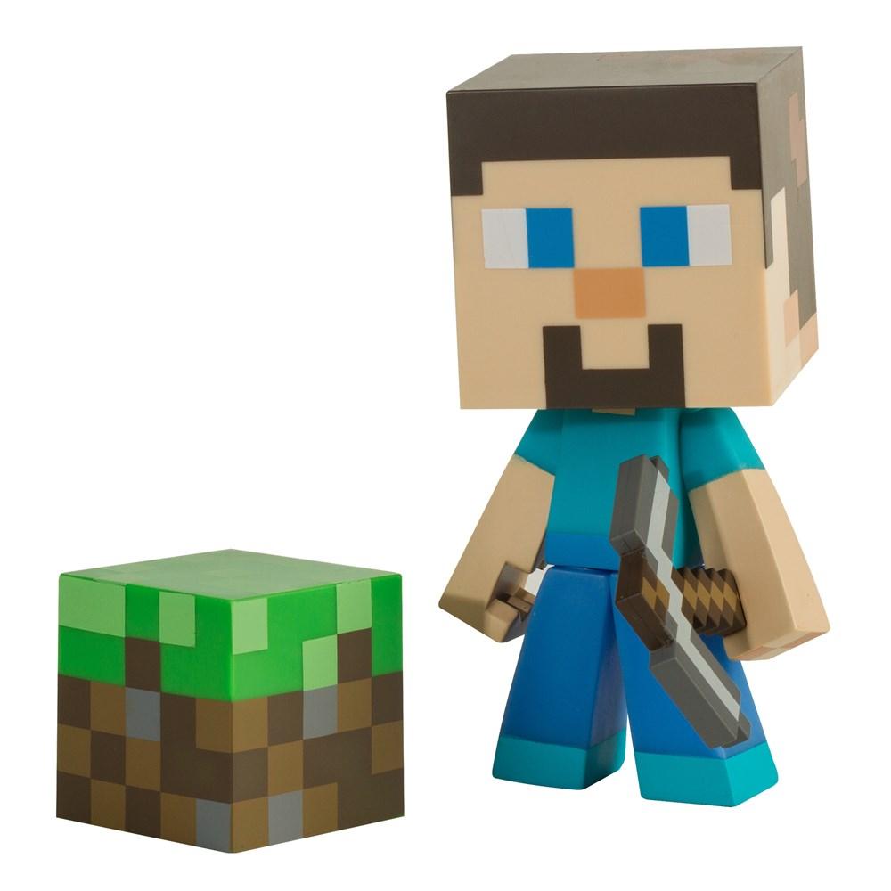 Figurka Minecraft - Steve 6 s krumpáčem (Jinx) (PC)