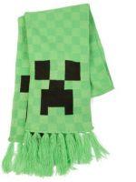 Šála Minecraft - Creeper, zelená