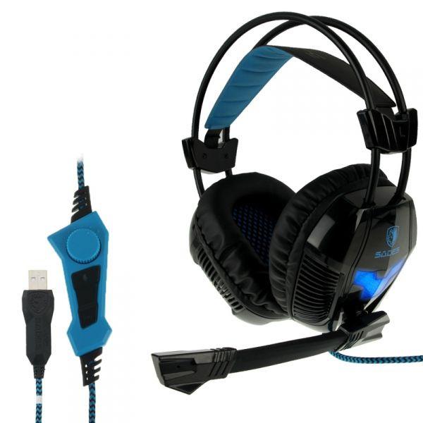 Herní sluchátka s mikrofonem SADES A30s (PC)